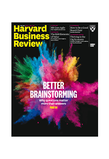 Harvard business review (print+online)**