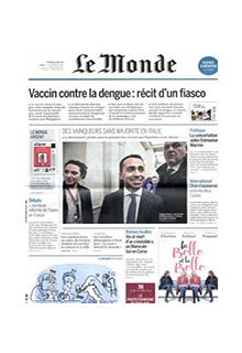 Le Monde print edition (репринт)