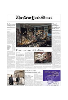 International New York Times (репринт)