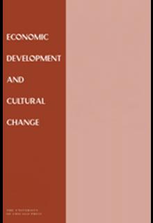 Economic development and cultural change**