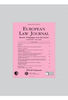 European law journal**