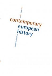 Contemporary European history**