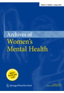 Archives of women's mental health**