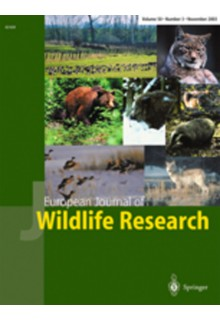 European journal of wildlife research**