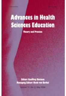 Advances in health sciences education**