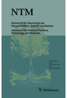 NTM Zeitschrift fur Geschichte der Wissenschaften, Technik und Medizin**