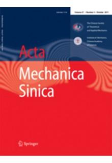 Acta mechanica sinica**