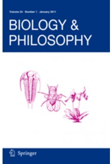 Biology & Philosophy**