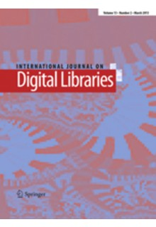 International journal on digital libraries**