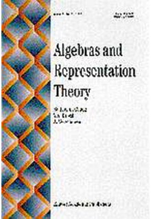 Algebras and representation theory**