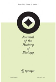 Journal of the history of biology**