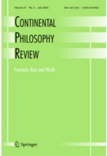 Continental philosophy review**