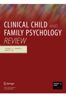 Clinical Child and Family Psychology Review**