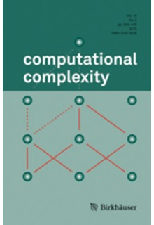Computational complexity**