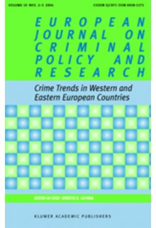 European journal on criminal policy and research**