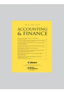 Accounting and finance**