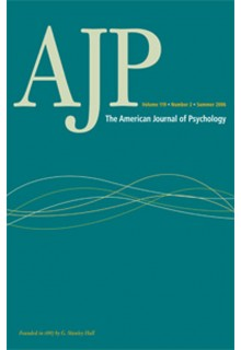 American journal of psyhology**