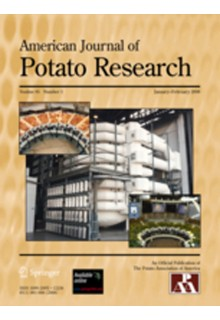 American journal of potato research**