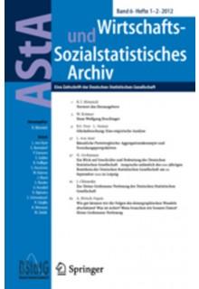 ASTA wirtschafts- und sozialstatistisches Archiv**