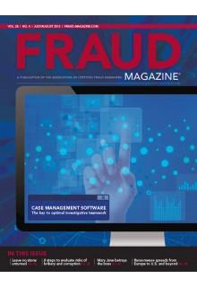 Fraud Magazine**
