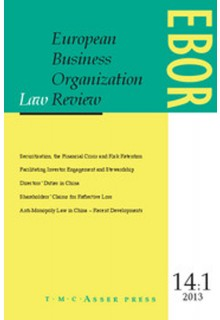 European business organization law review (EBOR)**
