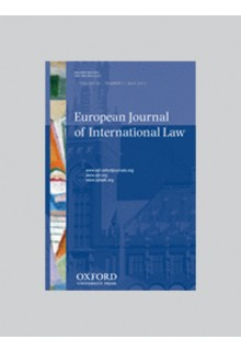 European journal of international law**