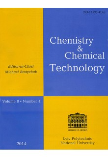 CHEMISTRY & CHEMICAL TECHNOLOGY
